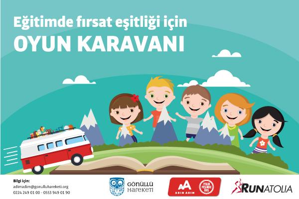 Antalya-2019-Gönüllü Hareketi-Eğitimde Fırsat Eşitliği için Oyun Karavanı