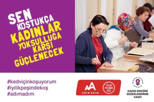 İstanbul YM-2020-KEDV-Sen Koş Kadınlar Yoksulluğa Karşı Güçlensin