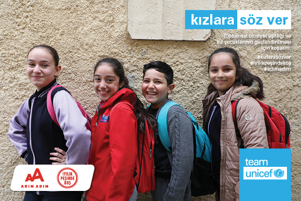 Eker I Run-2021-UNICEF-Kızlara Söz Ver