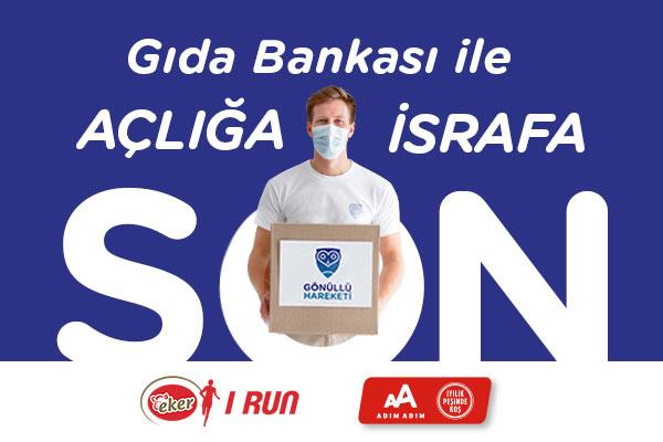 Eker I Run-2021-Gönüllü Hareketi-Gıda Bankası ile Açlığa Son