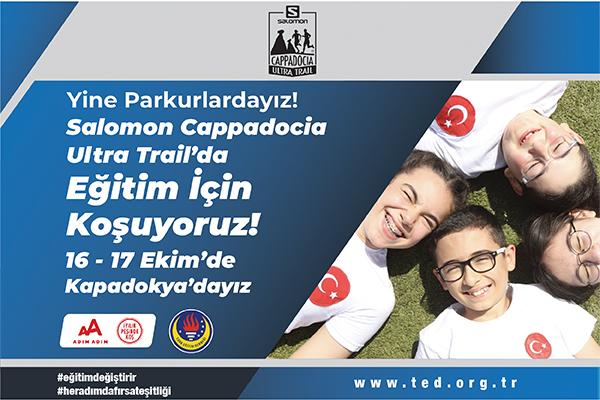Salomon Cappadocia-2021-Türk Eğitim Derneği-Eğitim Değiştirir