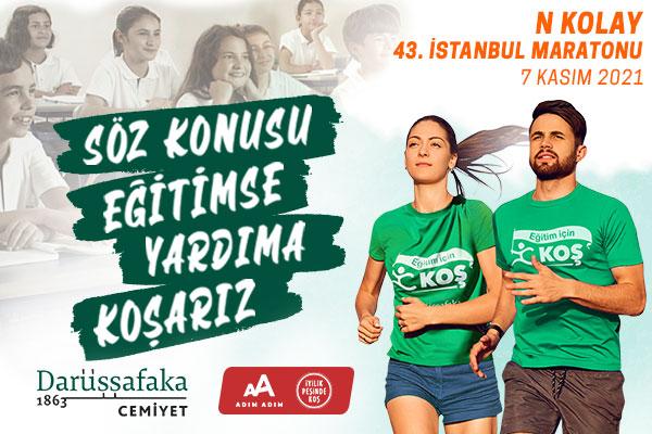 İstanbul M-2021-Darüşşafaka-Söz Konusu Eğitimse Yardıma Koşarız