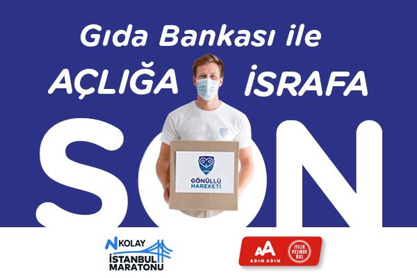 İstanbul M-2021-Gönüllü Hareketi-Gıda Bankası ile Açlığa Son