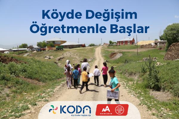 İstanbul M-2021-KODA-Köyde Değişim Öğretmenle Başlar!