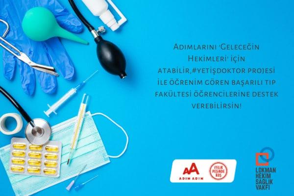 İstanbul M-2021-Lokman Hekim Sağlık Vakfı-Yetiş Doktor