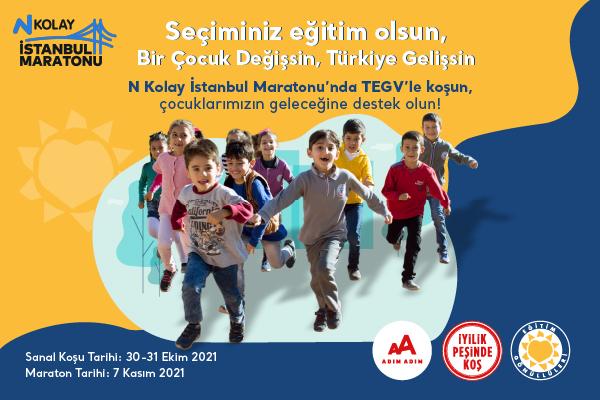 İstanbul M-2021-TEGV-Bir Çocuk Değişsin, Türkiye Gelişsin