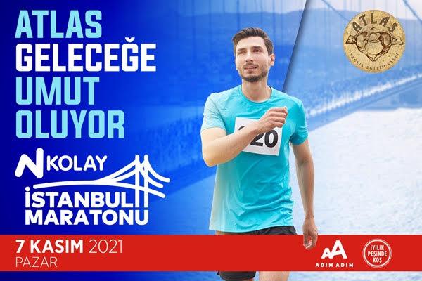 İstanbul M-2021-Atlas Sağlık Eğitim Vakfı-Atlas Geleceğe Umut Oluyor