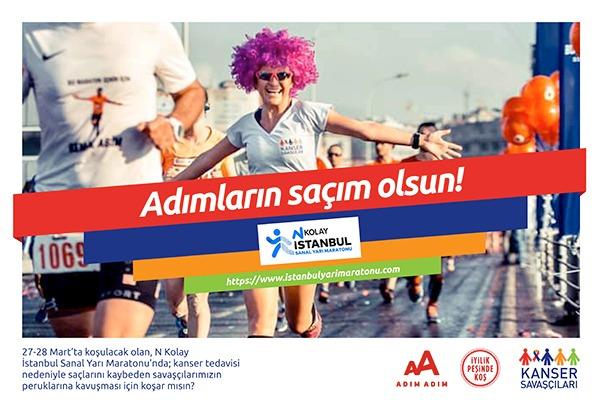 İstanbul YM-2021-Kanser Savaşçıları Derneği- Saçım Saçın Olsun