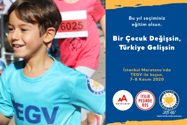 İstanbul M-2020-TEGV-Bir Çocuk Değişsin, Türkiye Gelişsin
