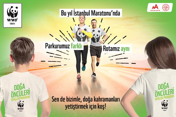 İstanbul M-2020-WWF-Türkiye-Doğa Öncüleri İçin Koşuyoruz