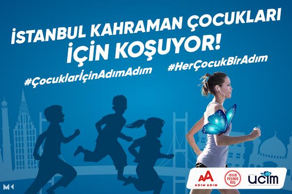 İstanbul M-2020-UCİM-İstismar Mağduru Çocuklarımız İçin Koşuyoruz