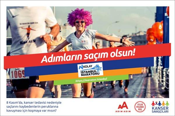 İstanbul M-2020-Kanser Savaşçıları Derneği-Saçım Saçın Olsun