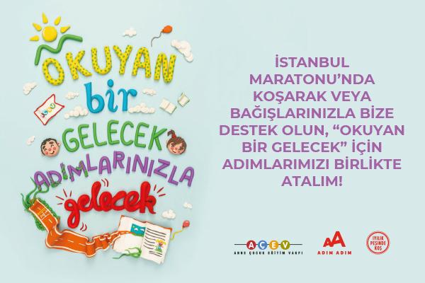 İstanbul M-2020-AÇEV-Okuyan Bir Gelecek Adımlarınızla Gelecek !