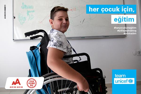 Antalya-2021-UNICEF-Her Çocuk İçin, Eğitim